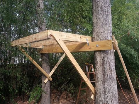 how to build a simple pics for gt simple tree house platform
