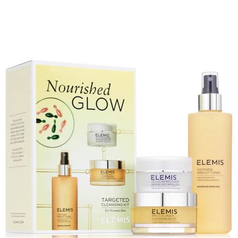 Does The Elemis Detox Products Work by Elemis Nourished Glow Cleansing Kit Worth 163 58 00 Free