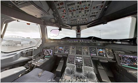 cabina airbus a380 panor 225 mica de la cabina del a380 161 dios m 237 o 161 est 225 lleno