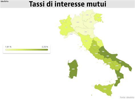 Banca D Italia Mutui by Tassi Mutui 2018 Dimmi In Che Regione Vivi E Ti Dir 242