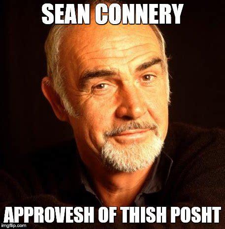 Sean Connery Mustache Meme - dad joke dog meme imgflip