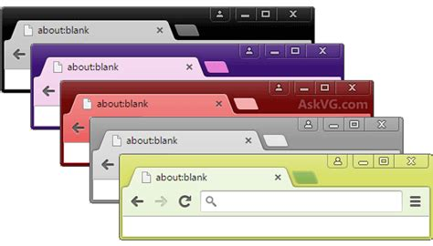 Chrome Theme Exle | fix google chrome showing xp style classic blue titlebar