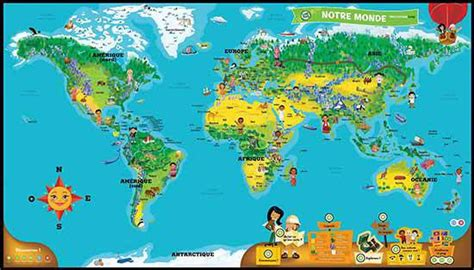 interactive world map with country names mappemonde enfant s 233 lection de 11 mappemondes voyage en