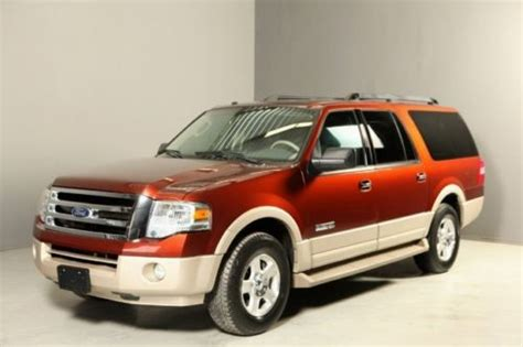 tire pressure monitoring 2007 ford expedition el engine control buy used 2007 ford expedition el eddie bauer dvd 2tone leather 7 pass 3row heat cool seat in