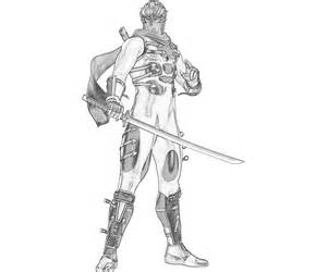 Ninja Gaiden Coloring Pages Sketch Page sketch template