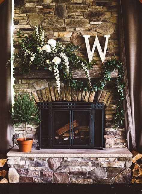 Best 25  Wedding fireplace decorations ideas on Pinterest