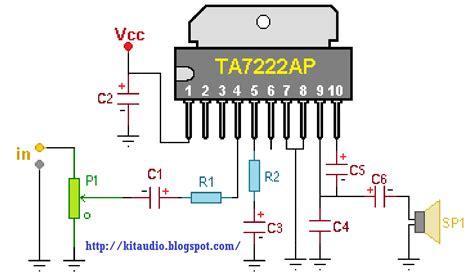 soft wiring  watt amplifier circuit diagram