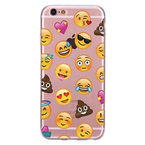 Silicon Casing Softcase Emoji Samsung C9 Pro emoji soft cover for iphone 5 5s se 6 6s 7 7 plus 6p soft tpu skin ebay