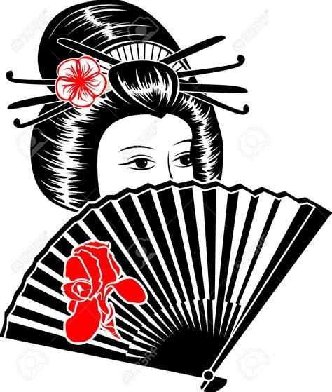 geisha clipart japan clipart geisha pencil and in color japan clipart