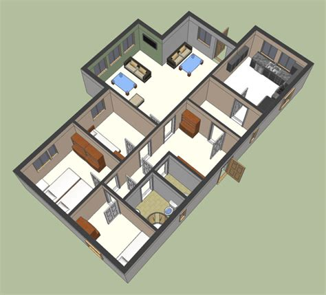 sketch up floor plan google sketchup 3d floor plan google sketchup 3d