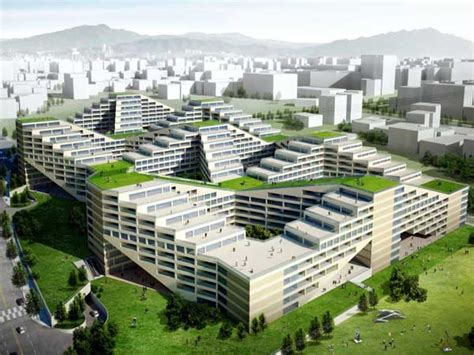 Sustainable Apartment Design | the great wall apartment factory is a green destination