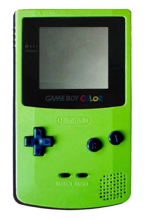 gameboy color green buy boy color console kiwi green cgb 001 boy