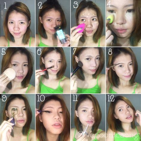 tutorial wajah tutorial makeup wajah mugeek vidalondon