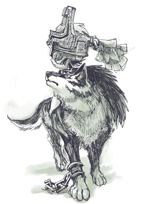 And Wolf Twilight Princess D0291 17 best images about the legend of twilight princess on legends wolves and
