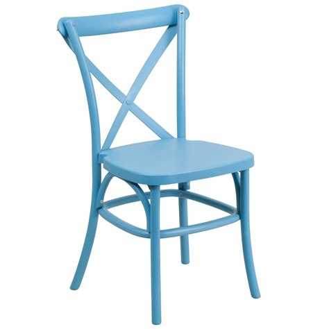 Resin Bistro Chairs Resin Bistro Style Cross Back Chair Event Stacking Chairs Direct Seating