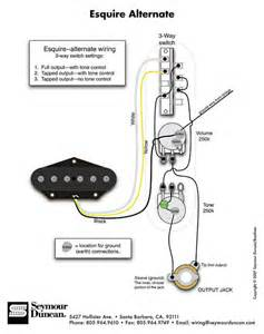 tapped esquire wiring combo i can t seem to find or solve