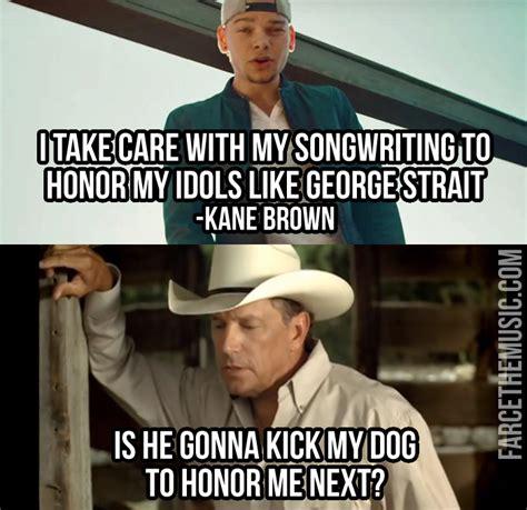 George Strait Meme - farce the music march 2016