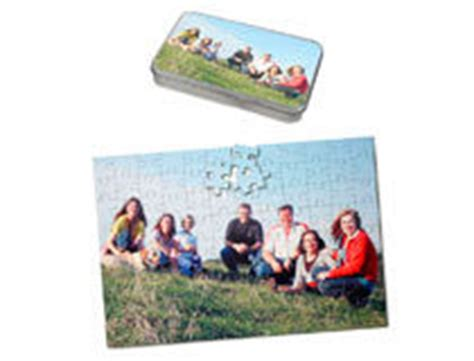 personalised heart shaped jigsaw puzzle with your photo
