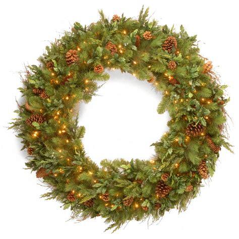 national tree company national tree company 48 in norwood fir artificial wreath