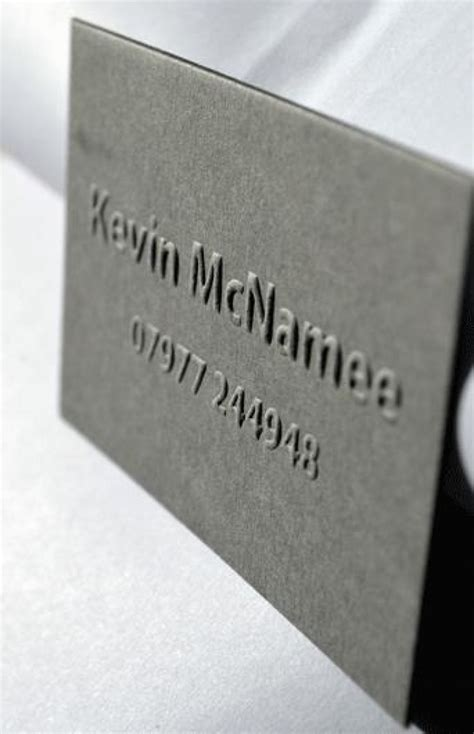 embossed name card template embossed business cards mississauga gallery card design