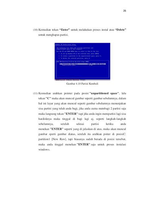 format laporan forum contoh laporan prakerin instalasi windows xp flauschige