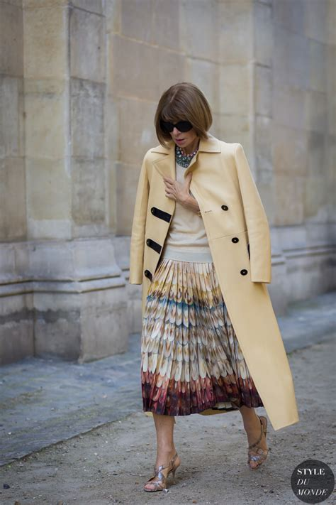 Wintour Wardrobe by Fashion Week Ss 2016 Style Wintour