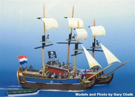 Papercraft Pirate Ship - papermau how to build a pirate ship in 28mm scale
