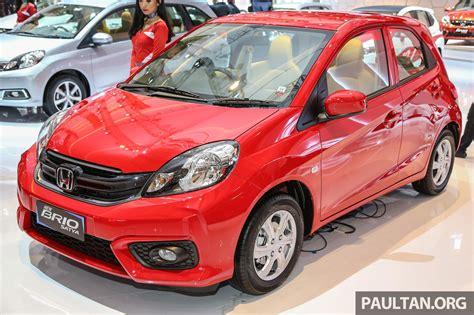 Honda New Brio Satya iims 2016 honda brio satya facelift new rs variant image