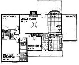 Simple 3 Bedroom Floor Plans 26 Harmonious Simple 3 Bedroom Floor Plans House Plans