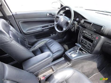 volkswagen passat black interior black interior 2000 volkswagen passat gls 1 8t sedan photo