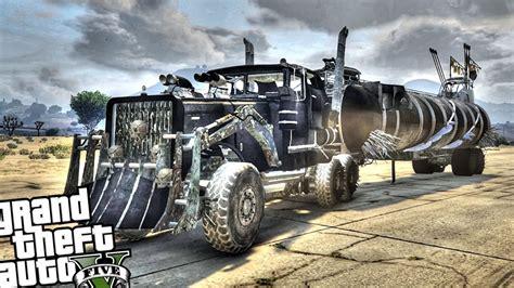 Topi Trucker Mad Max 1 epic mad max warrig trailer gta 5 mod