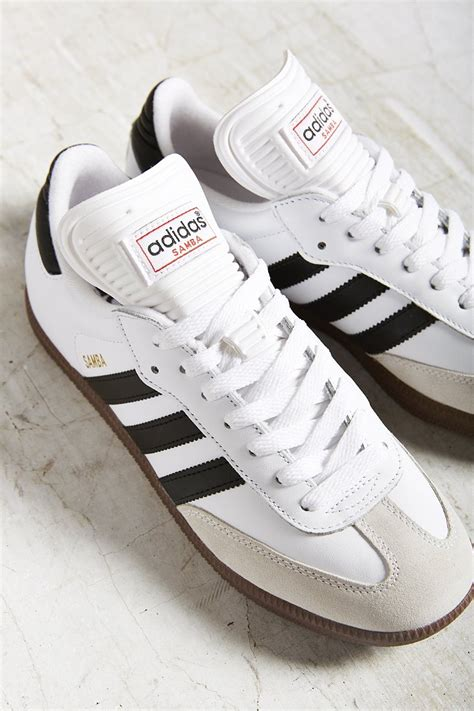 lyst adidas originals samba sneaker  black
