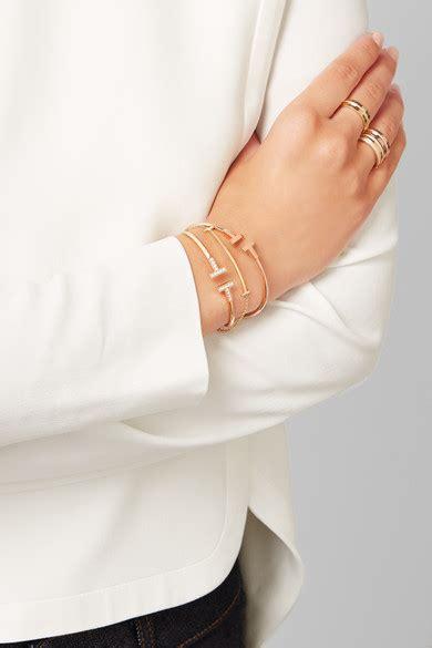 Tiffany & Co.   T Smile 18 karat gold bracelet   NET A PORTER.COM