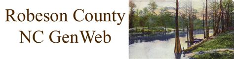 Robeson County Records Robeson County Nc Genweb