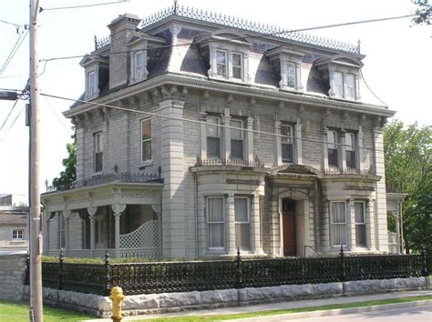 second empire homes second empire style house historic architecture pinterest
