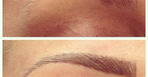 eyebrow tattoo in jakarta hair stroke eyebrow tattoo before and after tattoos