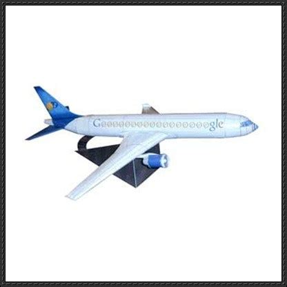 Papercraft Jet - airplane paper model papercraftsquare free papercraft
