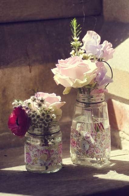 imagenes de centros de mesa para matrimonios con botellas decoraci 243 n de centros de mesa con flores naturales