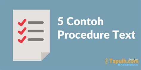 procedure text tutorial hijab dalam bahasa inggris 5 contoh procedure text lengkap paja tapuih