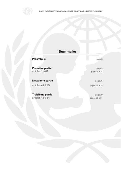 lenfant noir texte integral convention internationale du droit de l enfant unicef texte int 233 gral