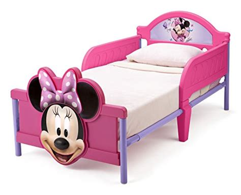 minnie mouse 3d toddler bed cutest mickey mouse bedding for kids and adults too