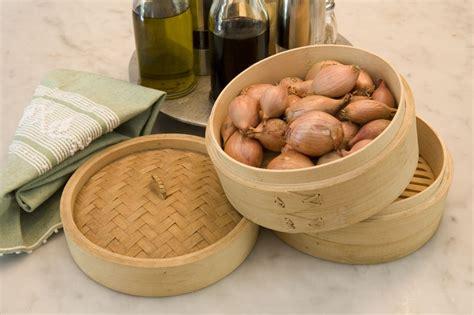 cucinare senza aglio e cipolla la vaporiera orientale per conservare le cipolle e aglio