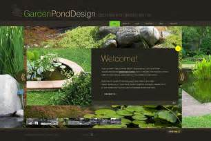 garden design templates garden design flash template 29552