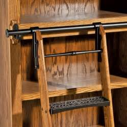 Bookshelves With Rolling Ladder Rockler Vintage Black Rolling Library Ladder Hardware
