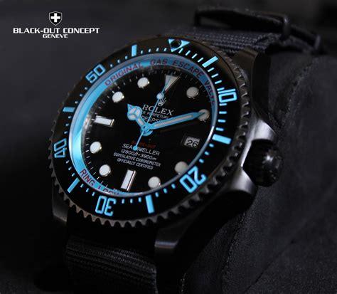 Jam Tangan Rolex Depsea Dweller Premium Rolex Dlc Pvd Deepsea All Rolex Plating Color 勞力士ip電度色