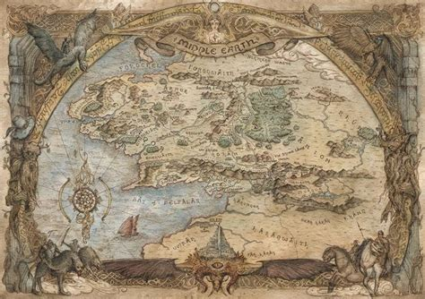 best map of middle earth 25 best ideas about middle earth map on