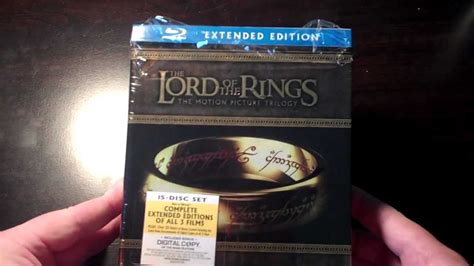 the lord of the rings trilogy extended edition on blu ray the lord of the rings extended edition trilogy blu ray