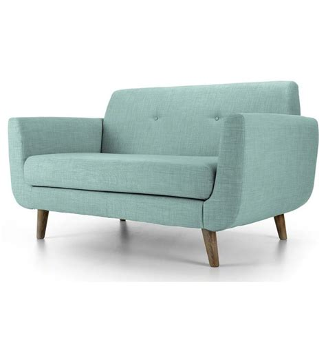 2 seater sofas uk two seater retro sofa in pale blue 163 549 00 http www