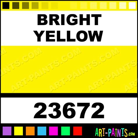 bright yellow artist acrylic paints 23672 bright yellow paint bright yellow color craft