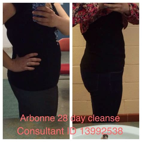 Arbonne 30 Day Detox Before And After pin by roberson on arbonne